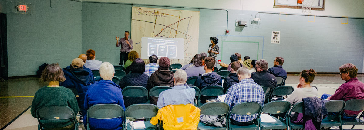 Carrick Reddiin, Engaging  the community.
