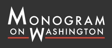 Monogram on Washington