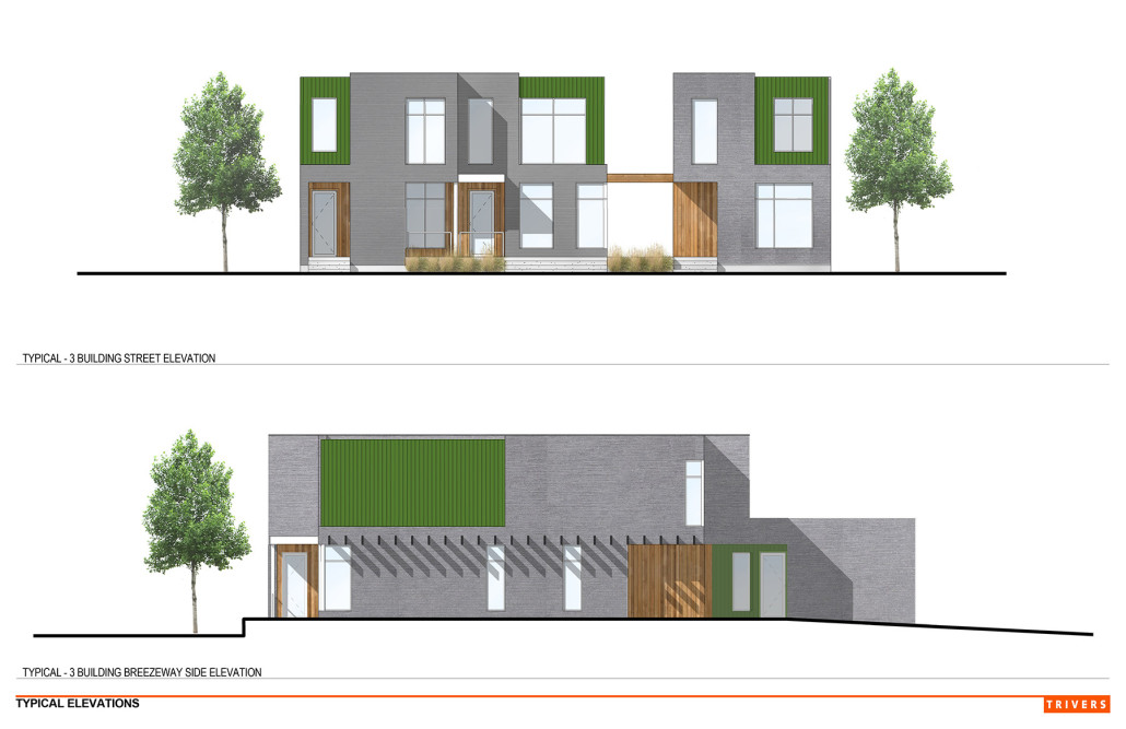 Preliminary Elevation for Adams Grove